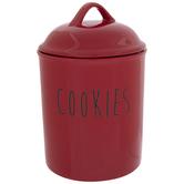 Red Cookie Jar
