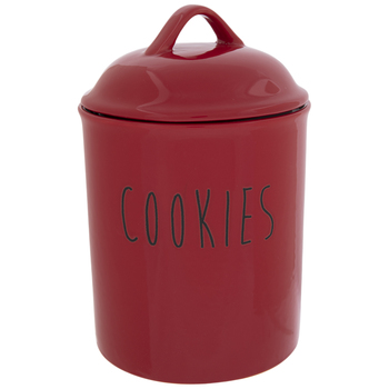 Red Cookie Jar