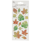 Translucent Leaves Stickers