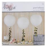 """White Balloons - 36"""""""