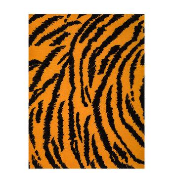 Tiger Print Felt Sheet