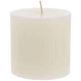 Cozy Vanilla Pillar Candle
