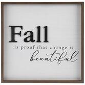 Change Is Beautiful Wood Wall Decor