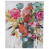 Bright Flowers In Vase Canvas Wall Decor