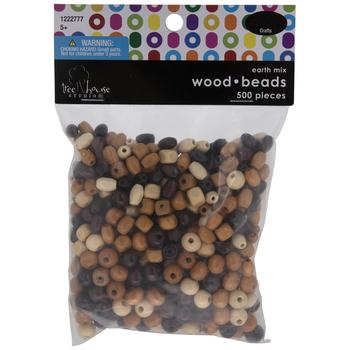 Earth Multi Assorted Wood Beads