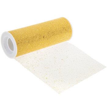 """Confetti Glitter Tulle - 6"""""""
