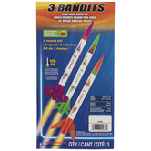 3 Bandits Model Rocket Kit