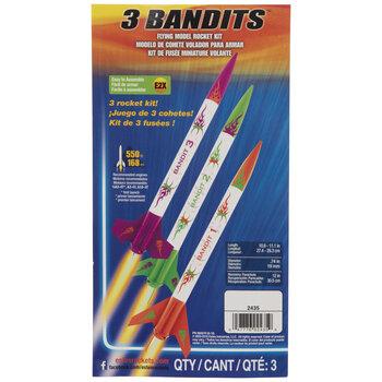 3 Bandits Model Rocket Kit