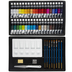Acrylic Paint & Easel - 51 Piece Set