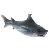 Blue & White Shark Ornament