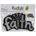 Faith Patterned Fuzzy Art