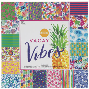 Vacay Vibes Cardstock Paper Pack