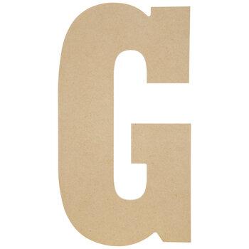 "Wood Letter G - 13"""