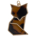 Modern Fox Pendant