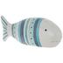 Blue & White Striped Fish