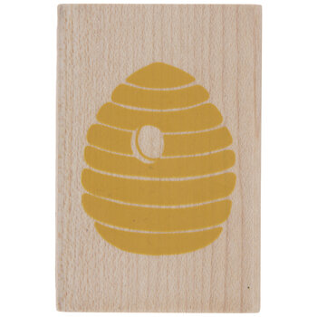 Beehive Rubber Stamp