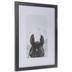 Black & White Horse Framed Wall Decor