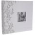 White Satin Post Bound Scrapbook Album - 12