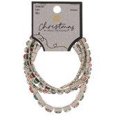 Christmas Rhinestone Bracelets