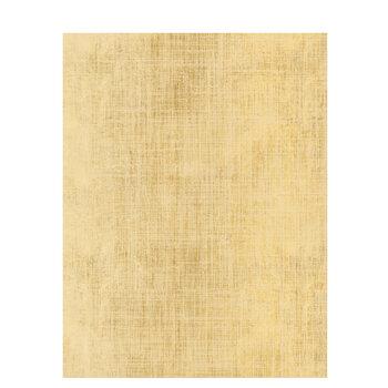 "Gold & Cream Linen Scrapbook Paper - 8 1/2"" x 11"""