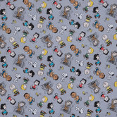 Peanuts Characters Cotton Calico Fabric