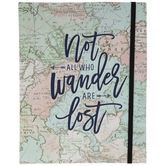 Not All Who Wander Are Lost Dot Bullet Journal