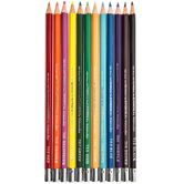 Kimberly Watercolor Pencils - 12 Piece Set