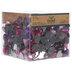 Pink & Purple Rhinestone Hearts & Ovals