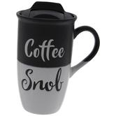Coffee Snob Two-Tone Mug