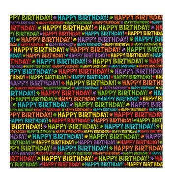 Bright Happy Birthday Gift Wrap