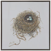 Nest Sweet Nest Canvas Wall Decor
