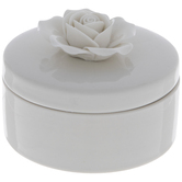 White Rose Jewelry Box