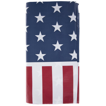 American Flag Table Cover