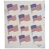U.S. Flag Holographic Stickers