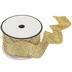 Gold Metallic Rick Rack Trim - 1 9/16