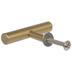 Gold Tube Metal Knob