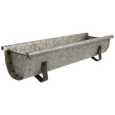 Galvanized Metal Trough