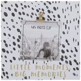 "Big Memories Wood Clip Frame - 4"" x 4"""