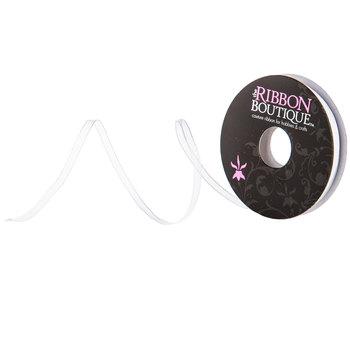 """White Organza Ribbon - 1/8"""""""