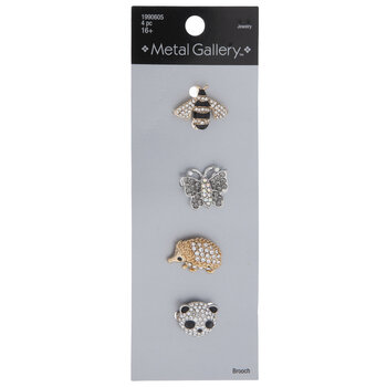 Insect & Animal Rhinestone Brooches