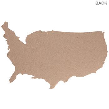 United States Map Corkboard