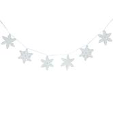 Glitter Snowflake Banner
