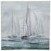Painted Sailboats Canvas Wall Decor
