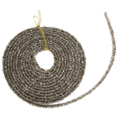 Silver & Gold Tinsel Strip Garland