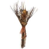 Orange Slice & Dried Grass Bouquet