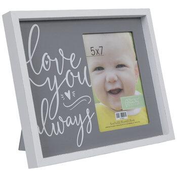 "Love You Always Wood Frame - 5"" x 7"""