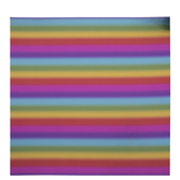"Rainbow Foil Scrapbook Paper - 12"" x 12"""