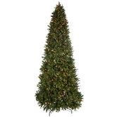 Quick Set Yuletide Pine Pre-Lit Christmas Tree - 12'