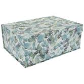 Green & Blue Leaf Box
