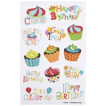 Happy Birthday Stickers